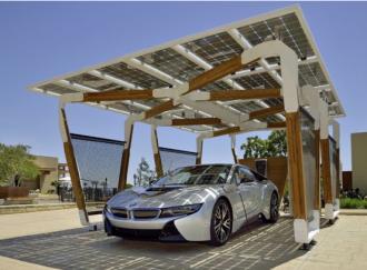 2014 BMW carport